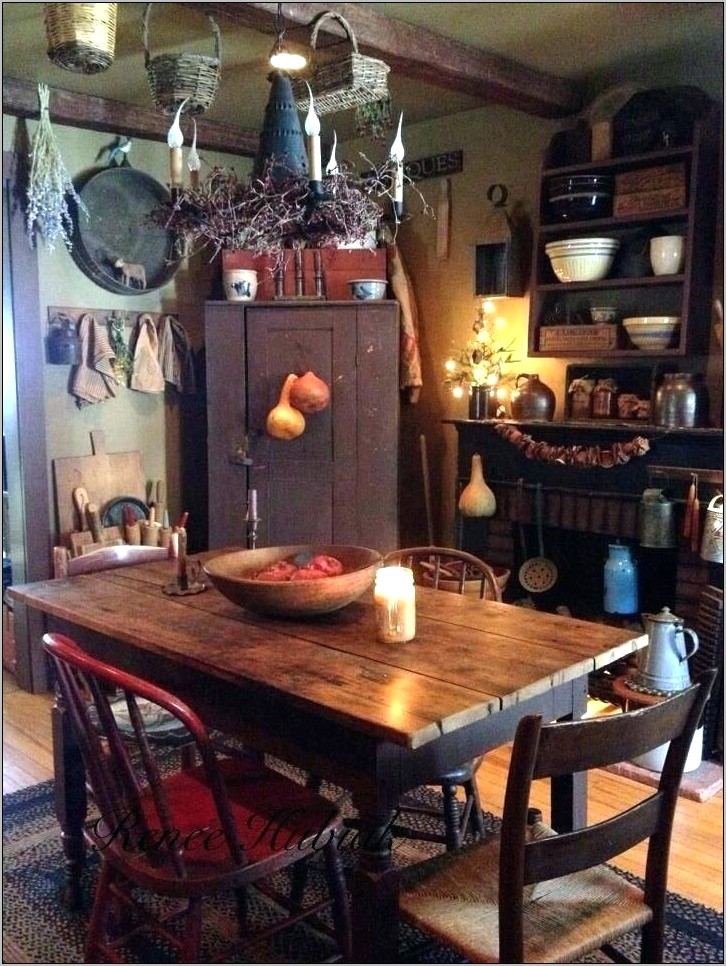 Primitive Home Decor For Kitchen