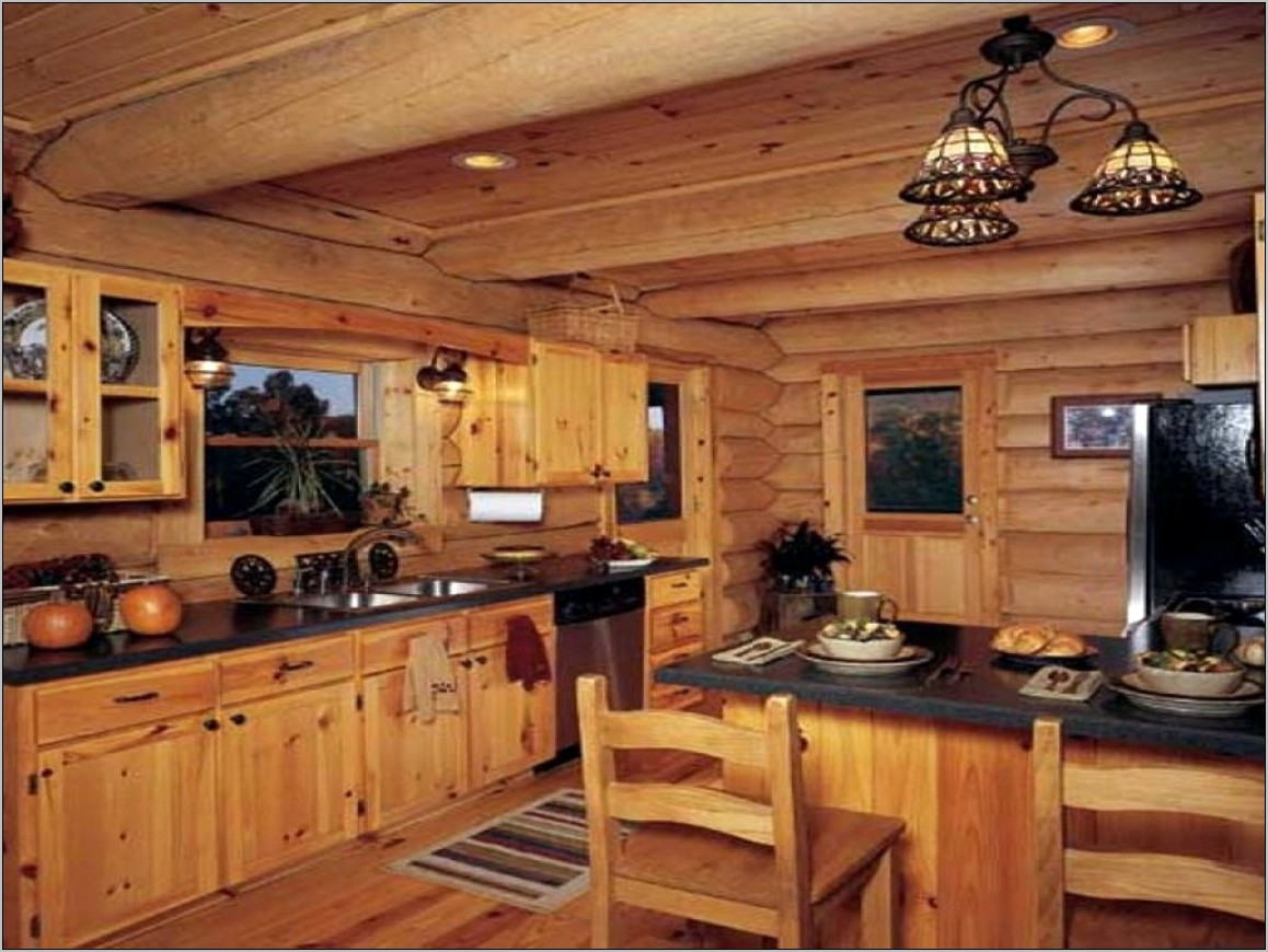 Primitive Kitchen Decor For Log Cabin