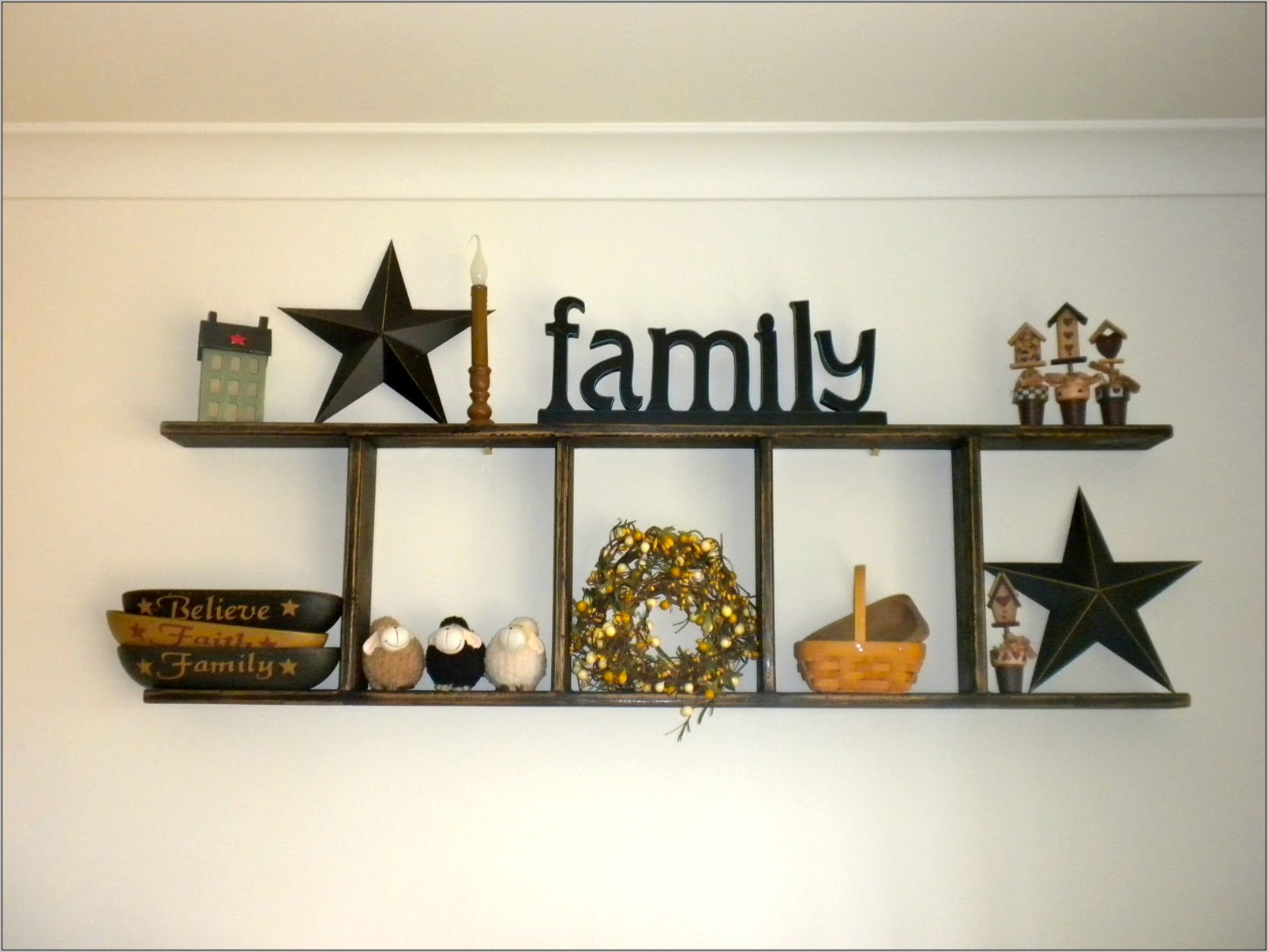 Primitive Kitchen Wall Decor Ideas