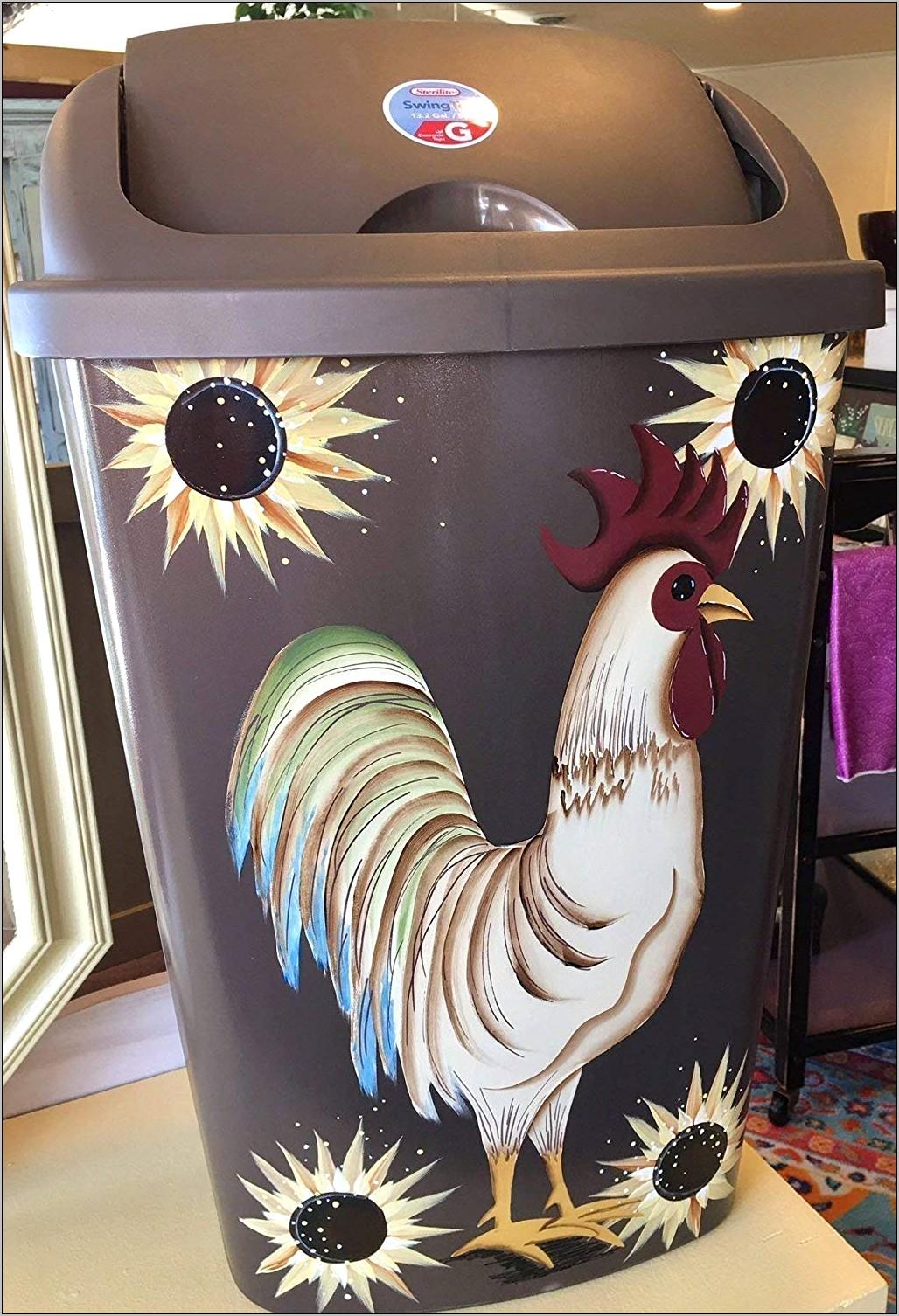 Primitive Rooster Kitchen Decor