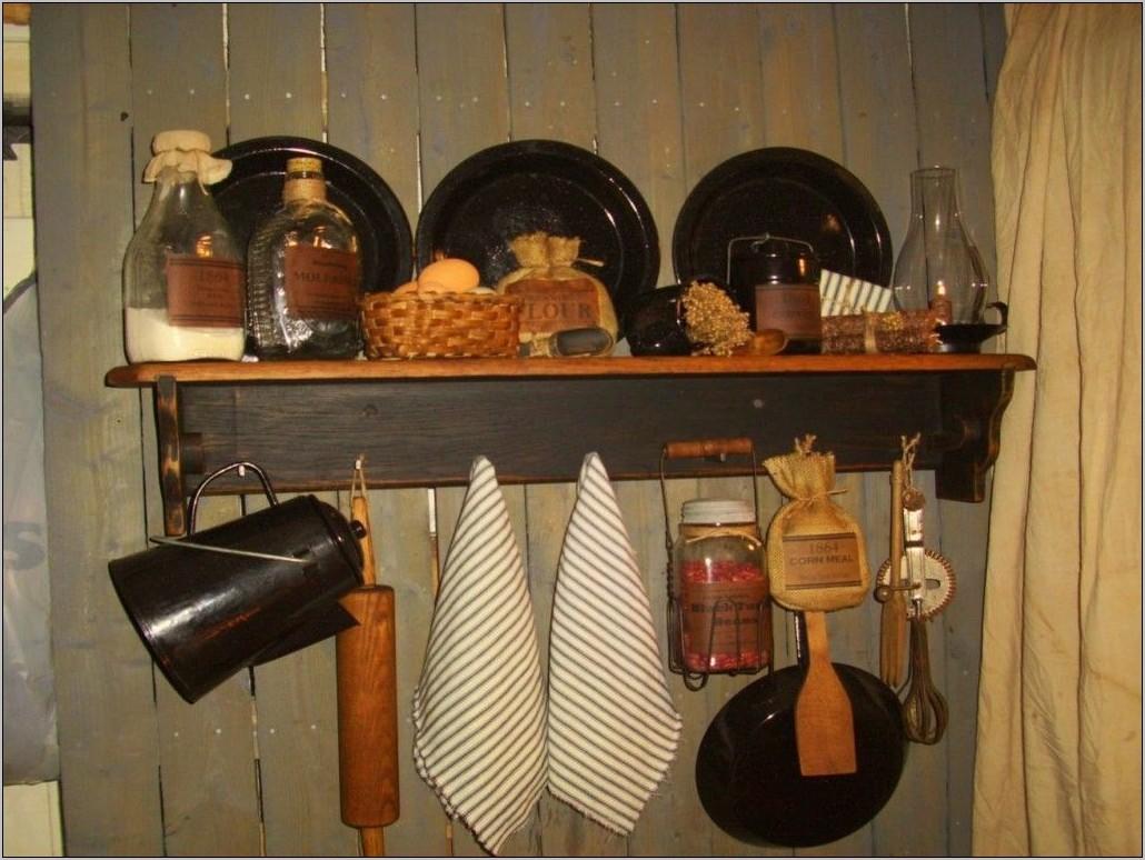 Primitive Wall Decor Kitchen