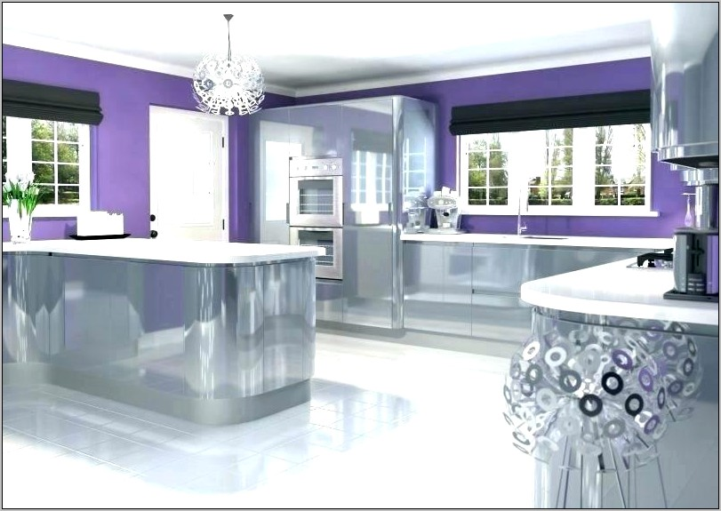 Purple Grape Kitchen Decor