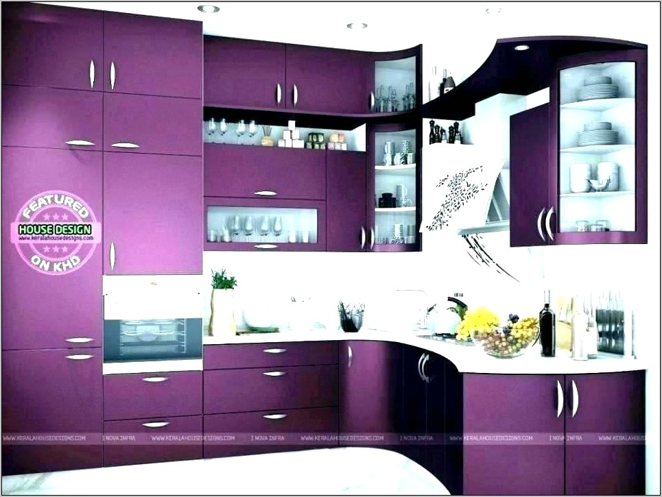Purple Kitchen Wall Decor