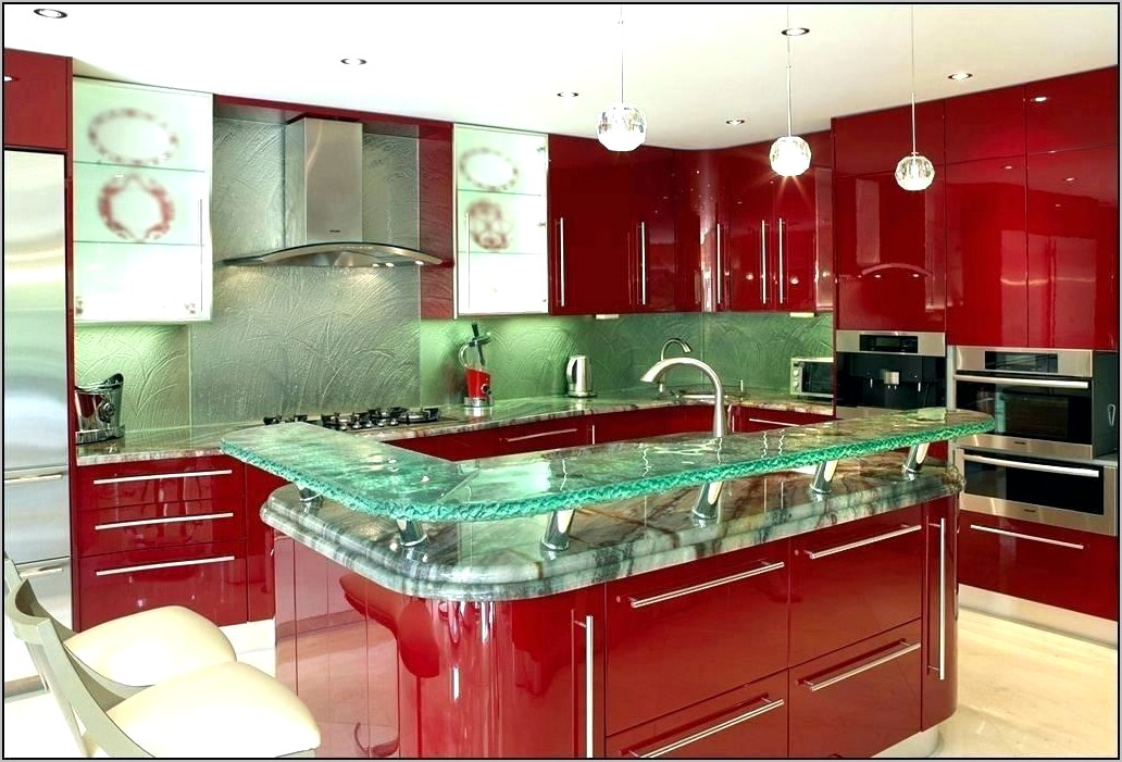 Red And Black Chef Kitchen Decor