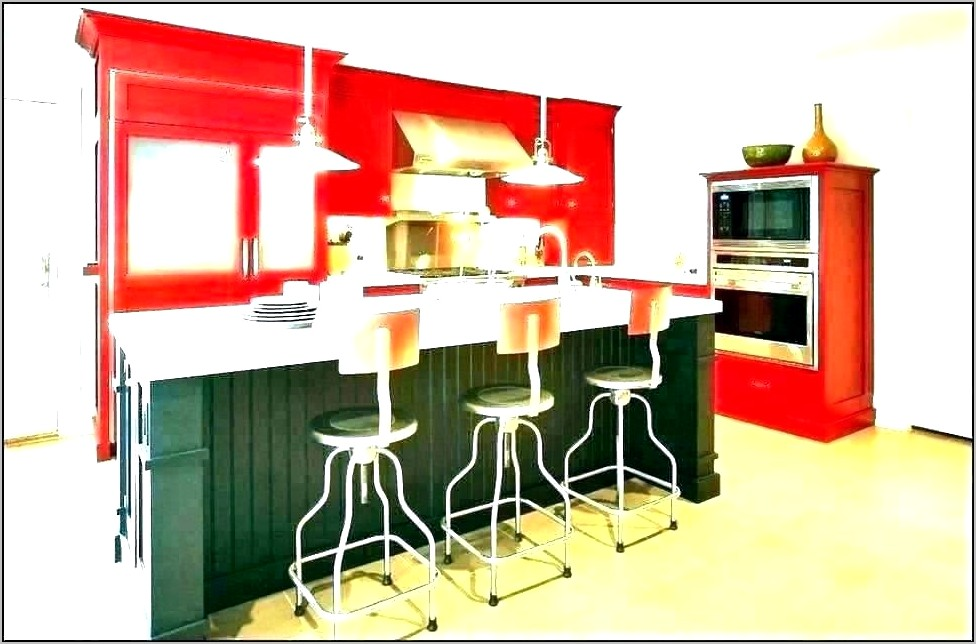 Red And Yellow Kitchen Decorating Ideas