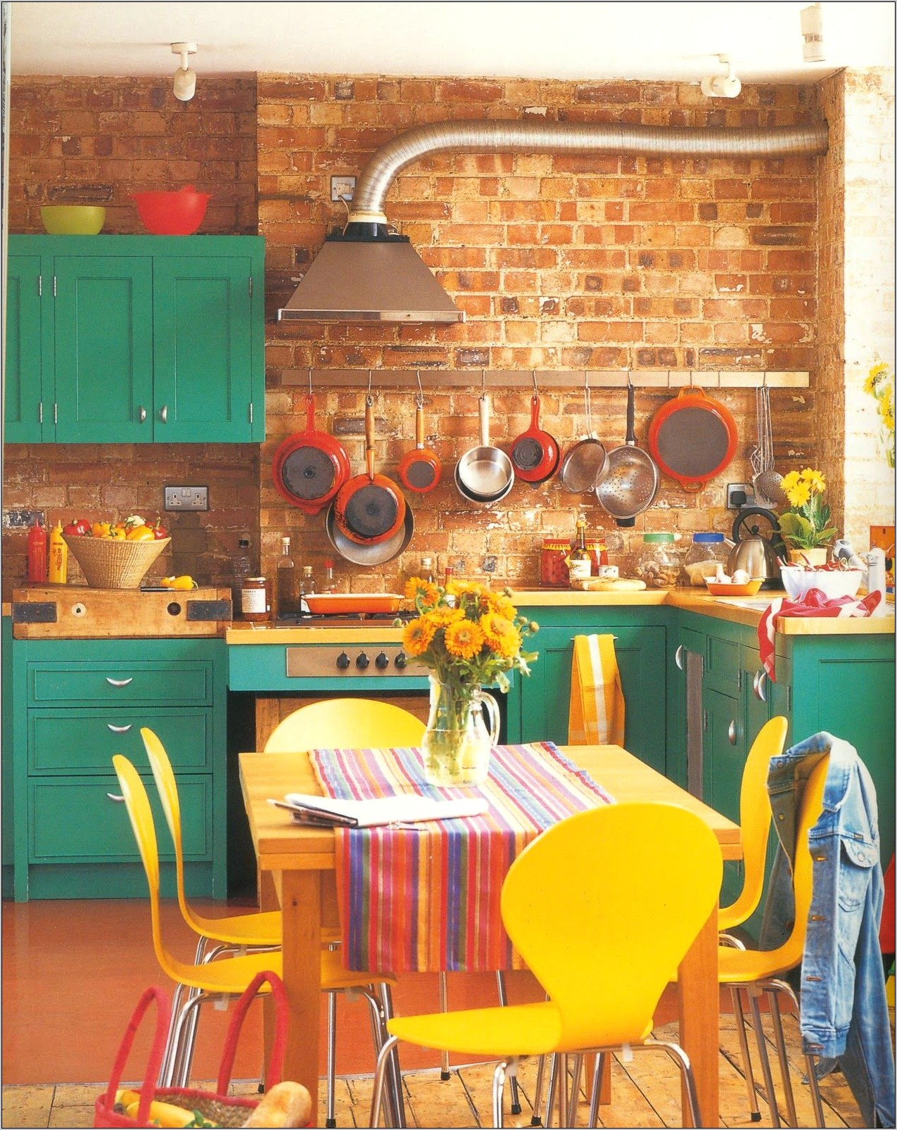 Retro Decor For Kitchen