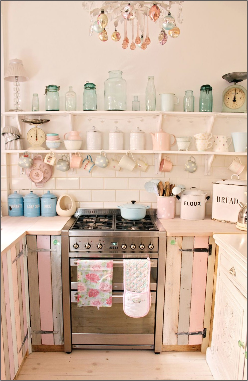 Retro Pastel Kitchen Decor