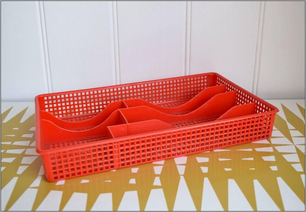 Retro Plastic Decorative Kitchen Trays