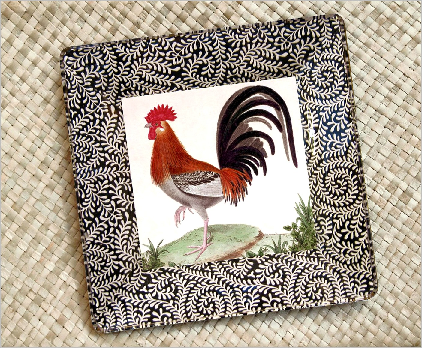 Rooster And Chicken Kitchen Decor