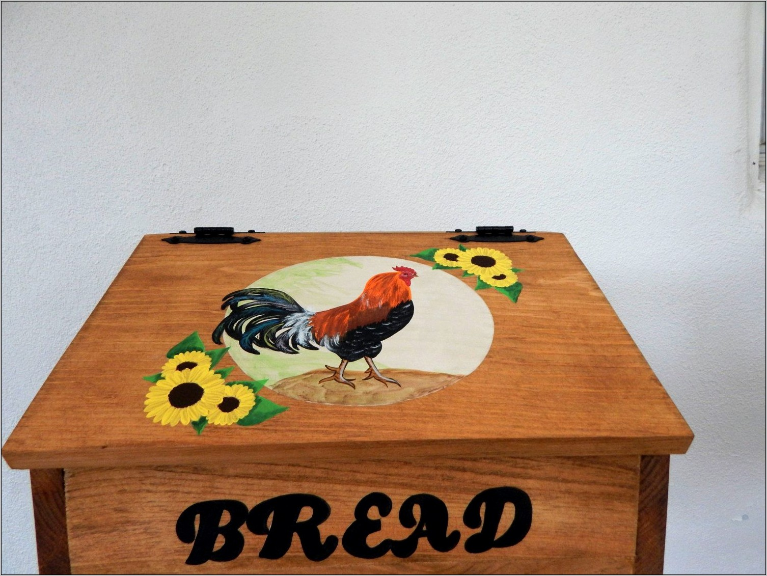 Rooster And Sunflower Kitchen Decor