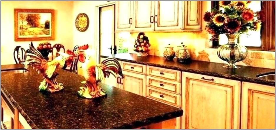 Rooster Chicken Kitchen Decor