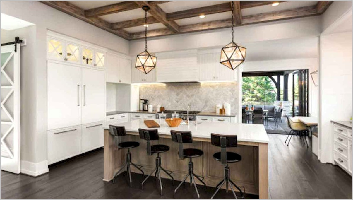 Rustic And Modern Kitchen Decor