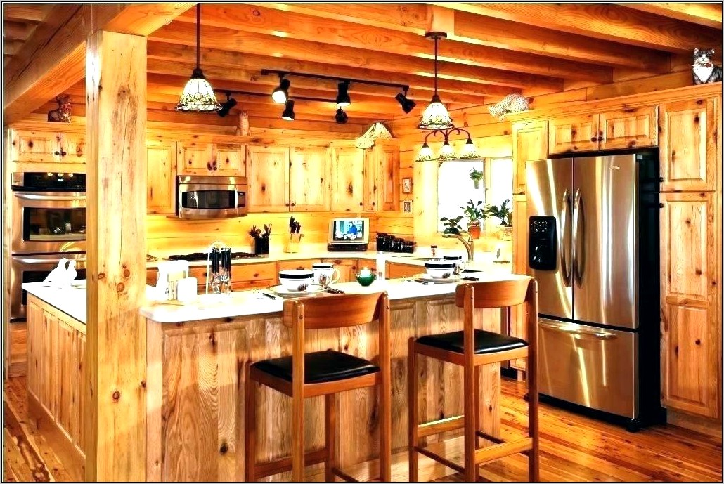 Rustic Cabin Kitchen Decor