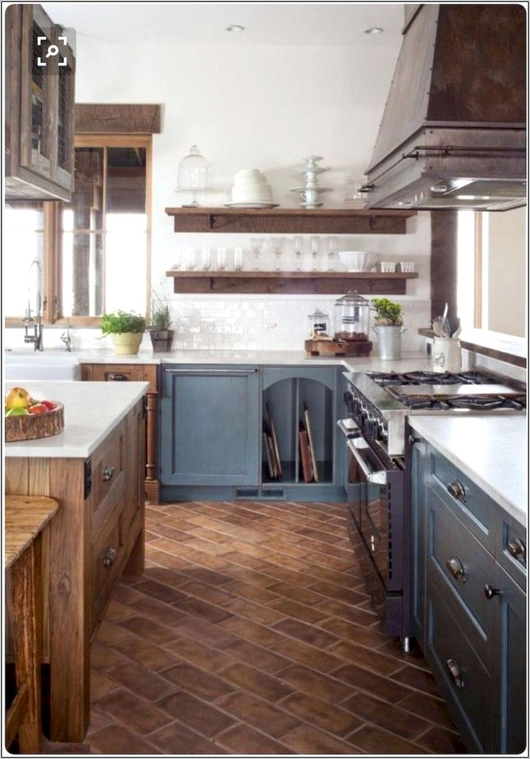 Rustic Elegant Kitchen Decor