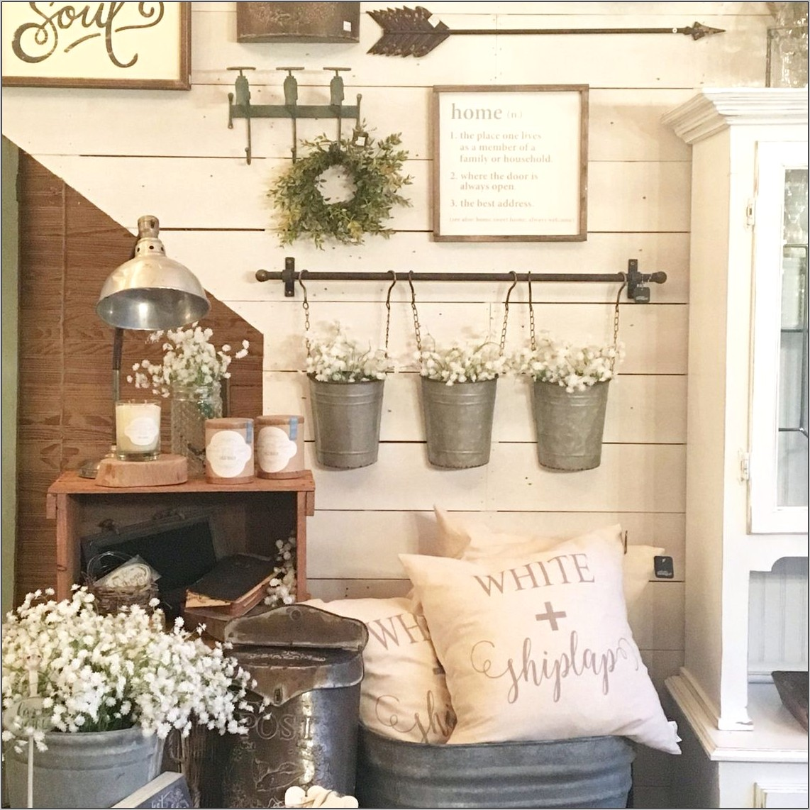 Rustic Farmhouse Kitchen Wall Decor