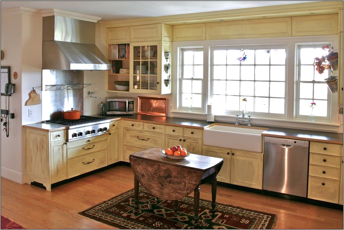 Rustic French Country Kitchen Decorating Ideas