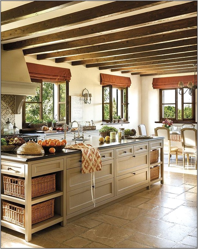 Rustic French Kitchen Decor