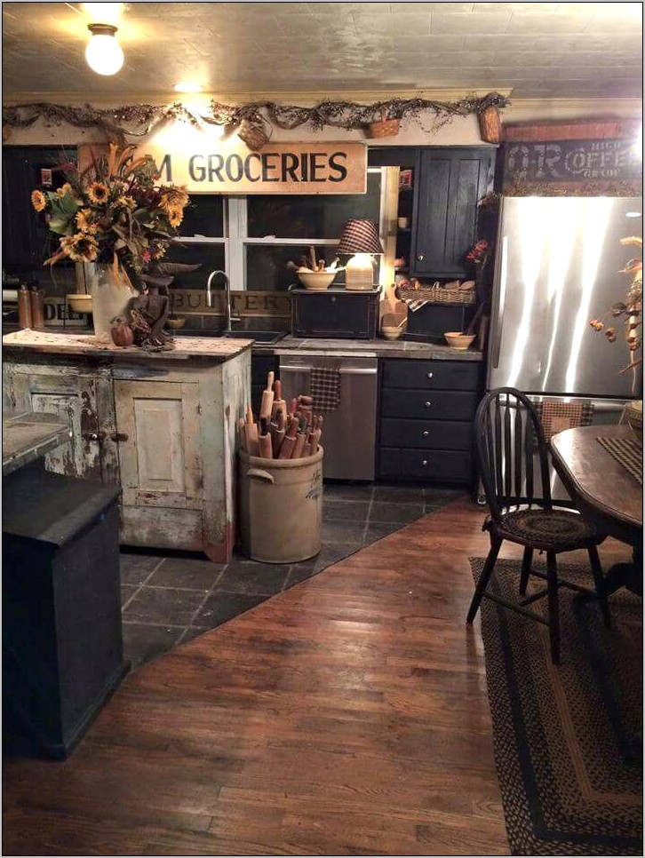 Rustic Kitchen Decor Primitive America