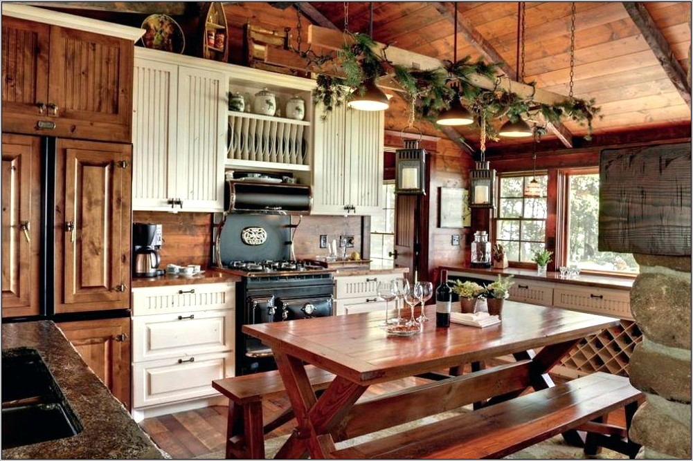 Rustic Kitchen Decorating Ideas For Walls