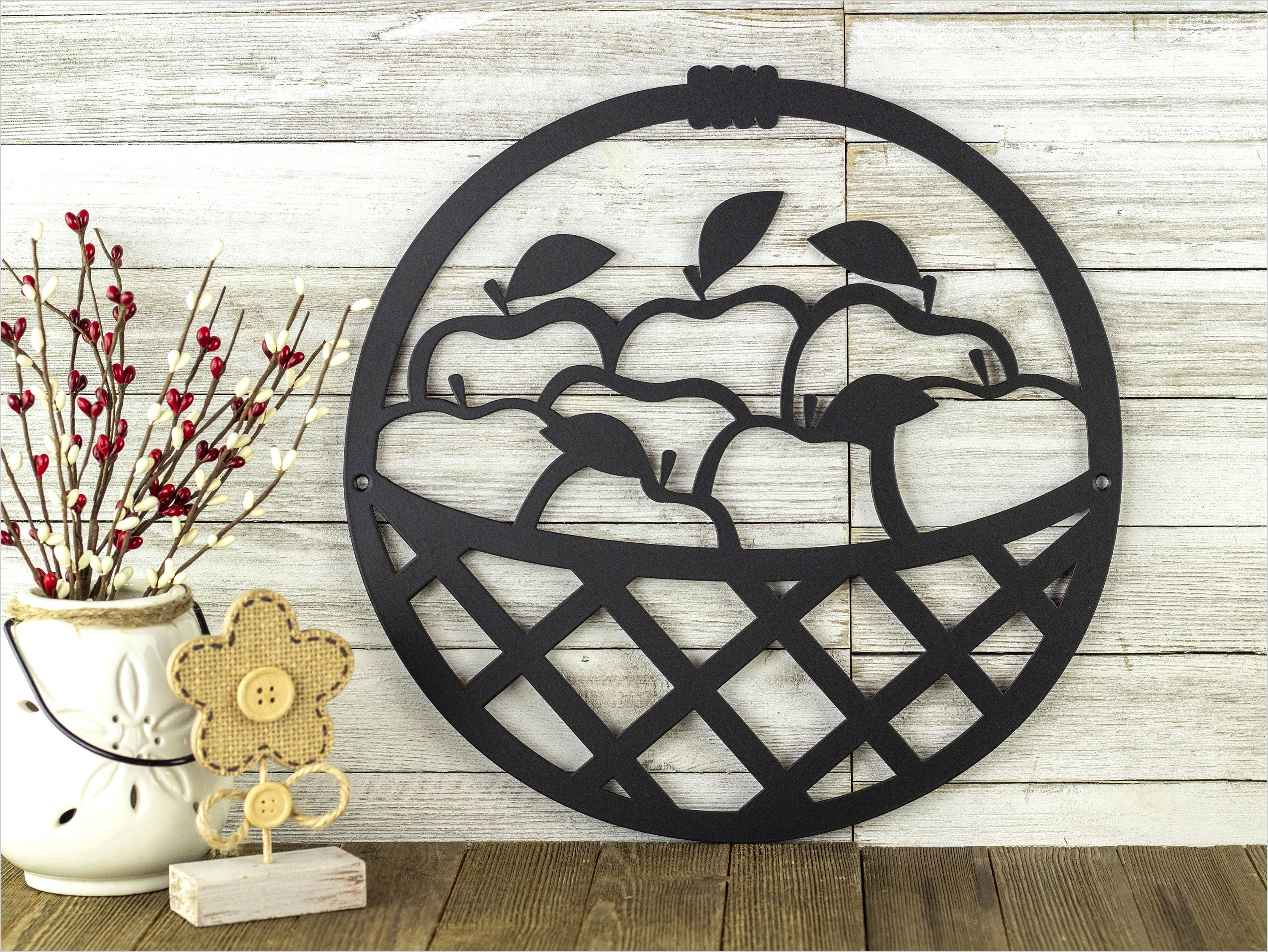 Rustic Kitchen Wall Decor Gift