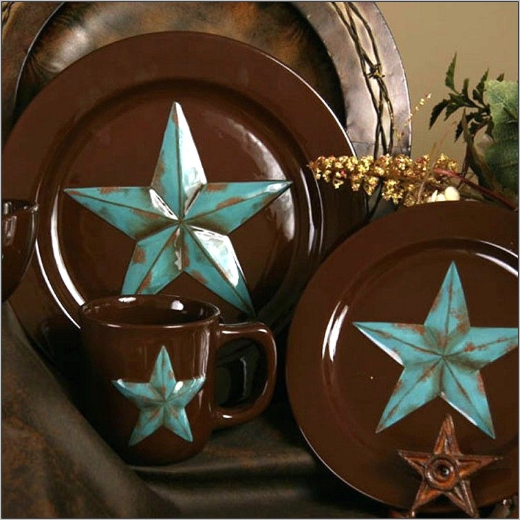 Rustic Star Decor Kitchen