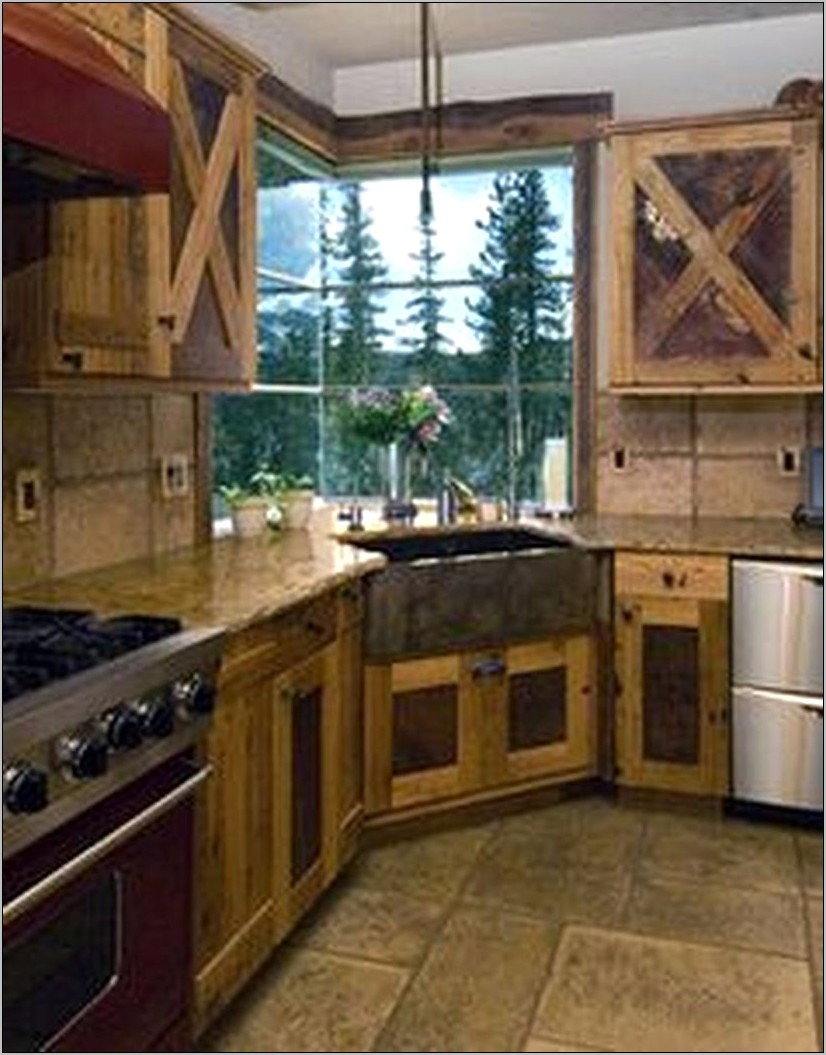 Rustic Western Kitchen Decor