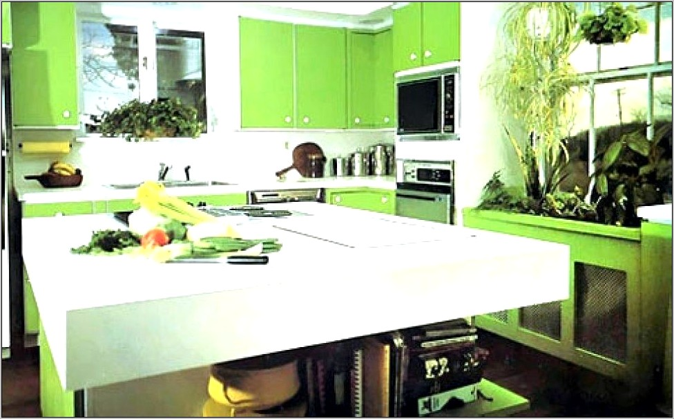 Sage Green Kitchen Decor