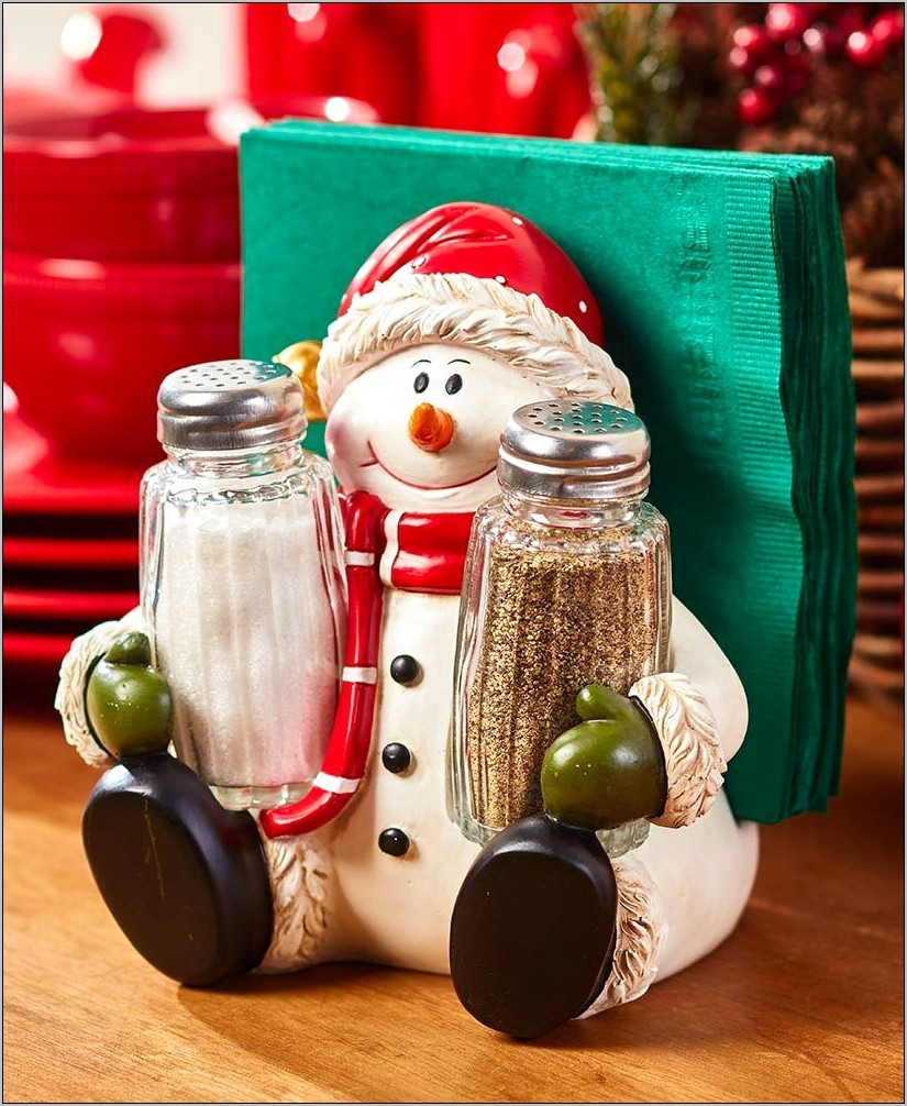 Salt Holder Kitchen Decor