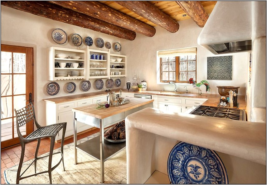 Santa Fe Style Kitchen Decor