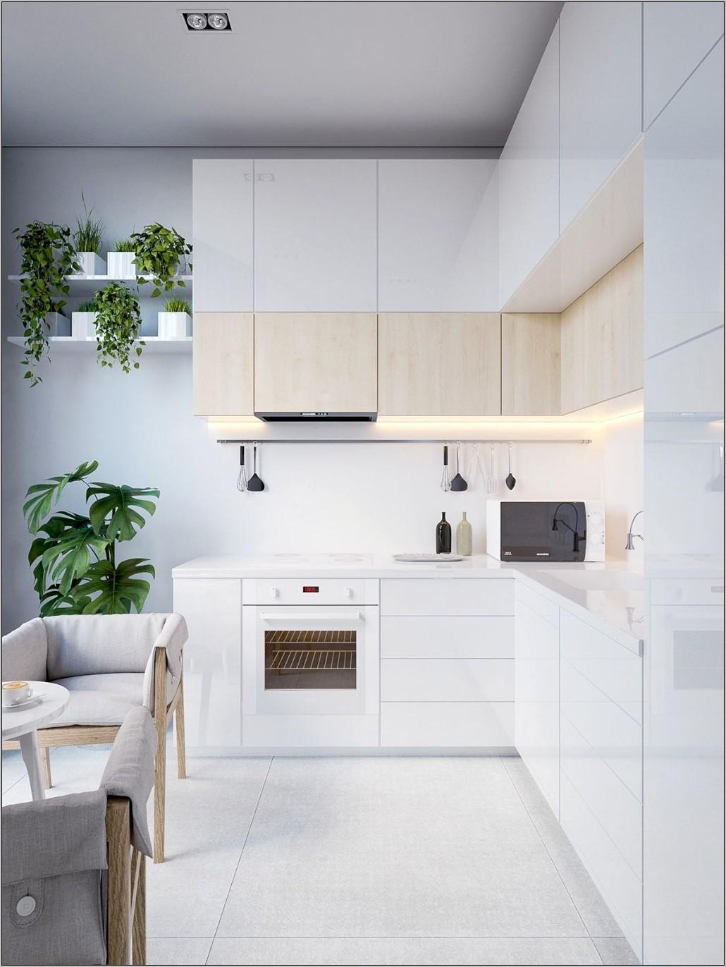 Scandinavian Decor Kitchen Dark Cabinets