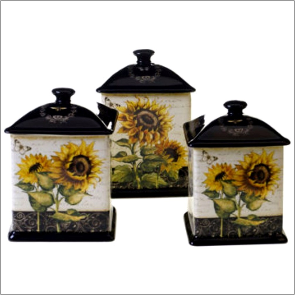 Seventh Avenue Sunflower Kitchen Decor Set