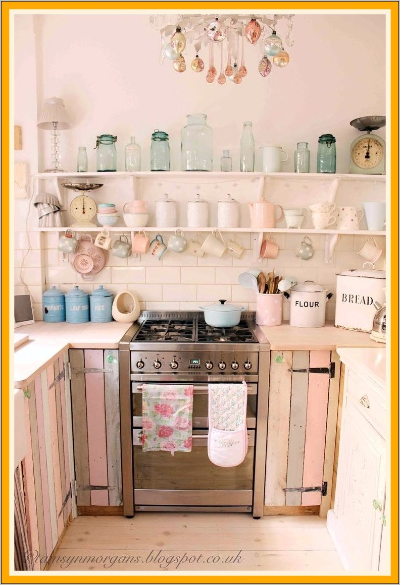 Shabby Chic Decorated Kitchens