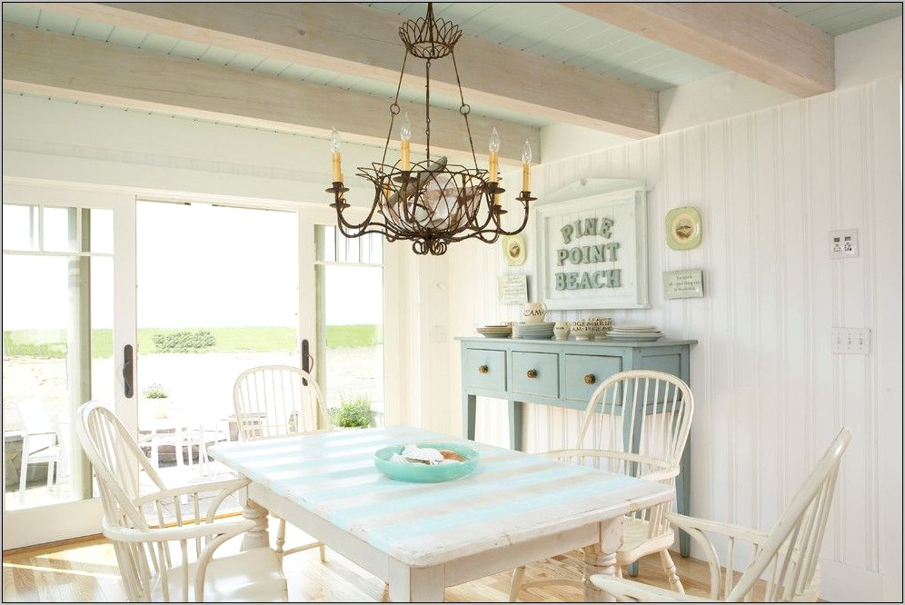 Shabby Chic Kitchen Table Decor