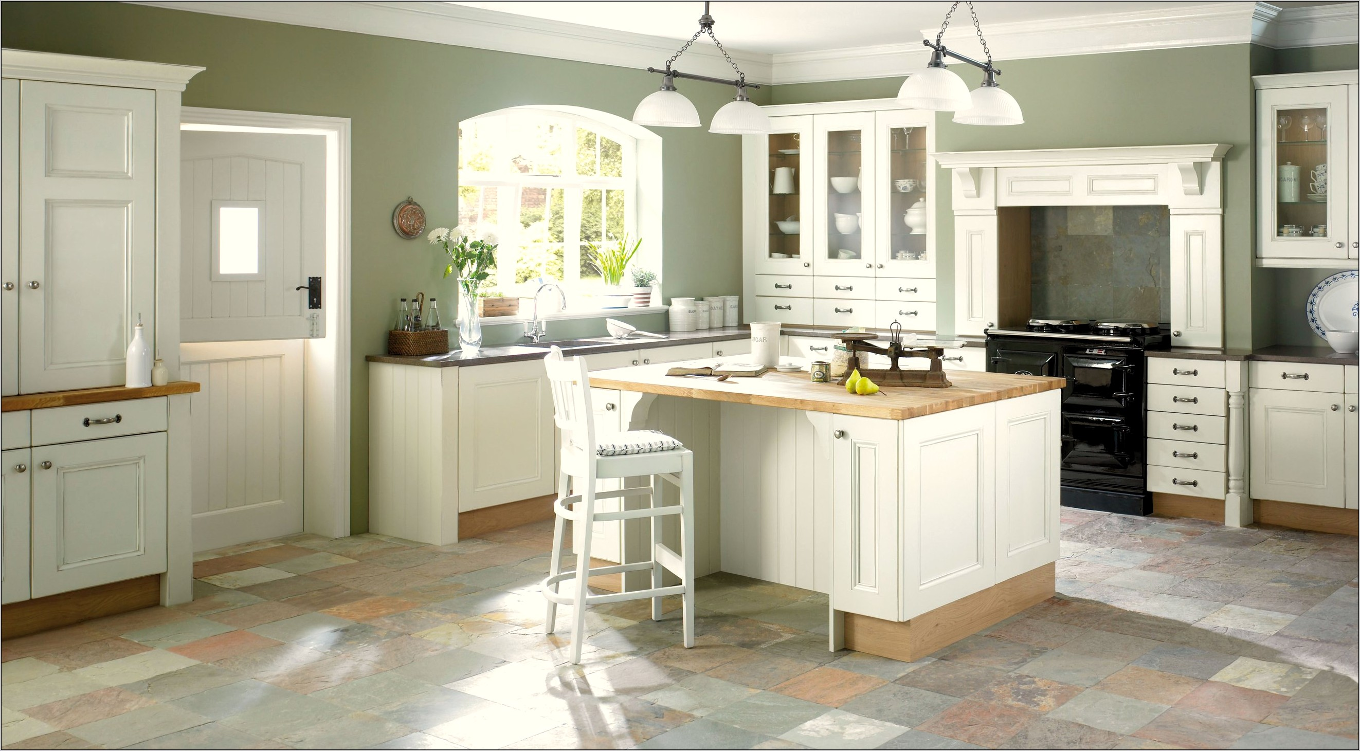 Shaker Style Kitchen Decorating Ideas