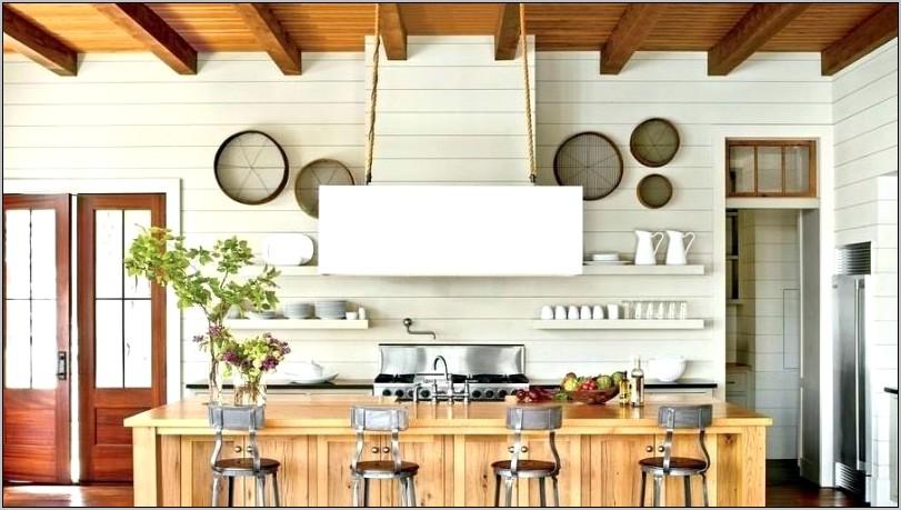 Shiplap Kitchen Wall Decor