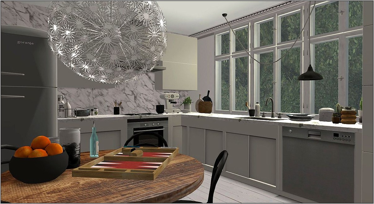 Sims 2 Kitchen Decor