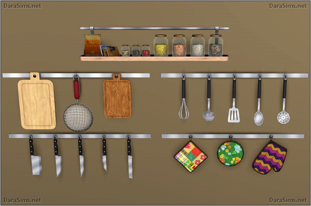 Sims 2 Kitchen Decorations Cc