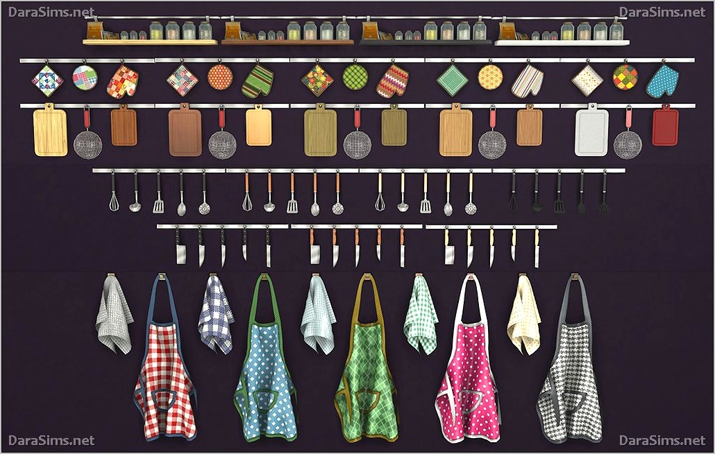 Sims 4 Cc Kitchen Decor