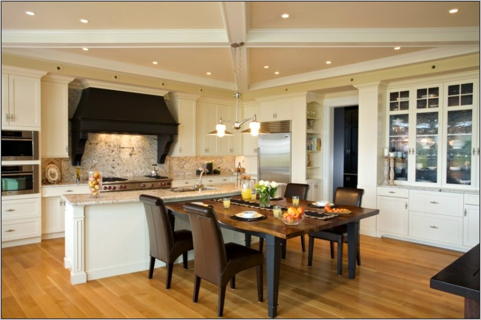 Small Kitchen And Dining Room Decor