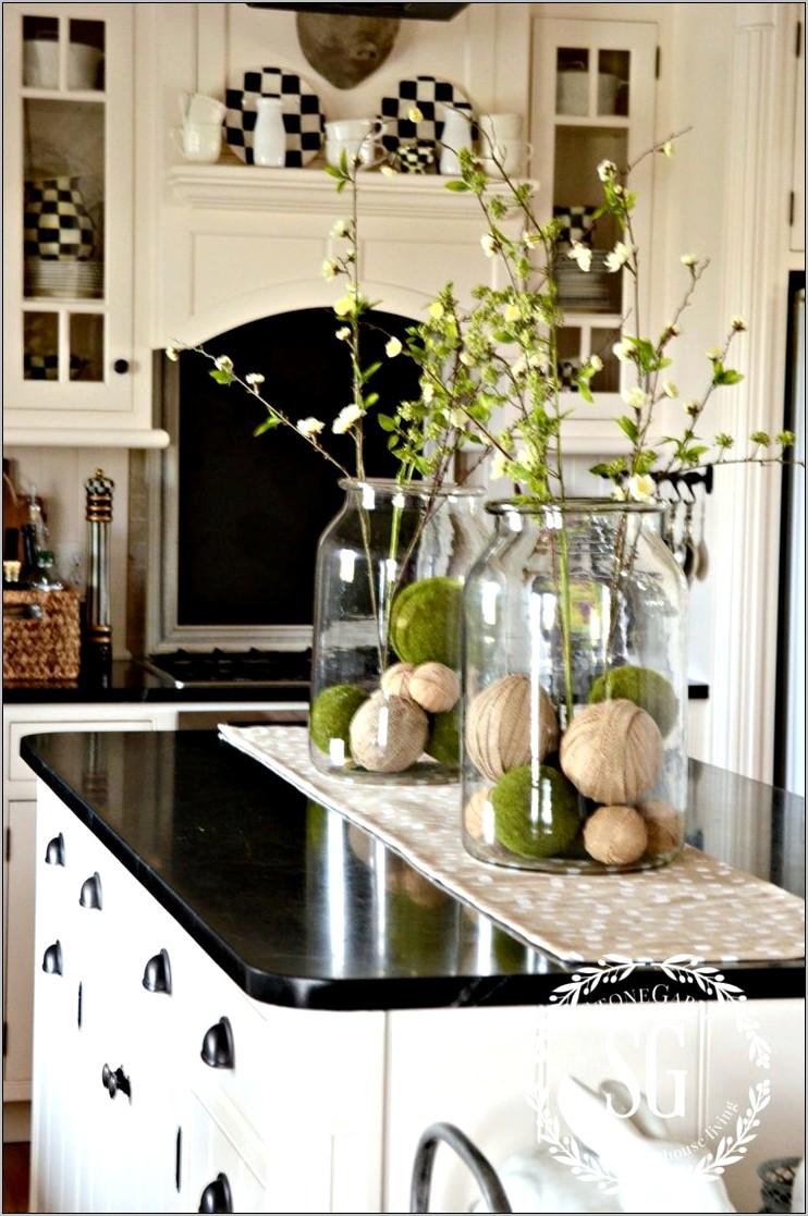 Small Kitchen Island Decor