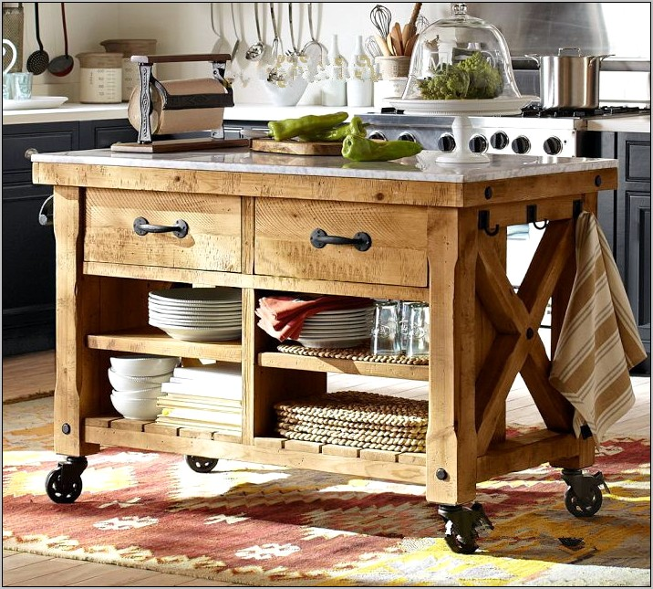 Small Kitchen Side Table Decor Ideas
