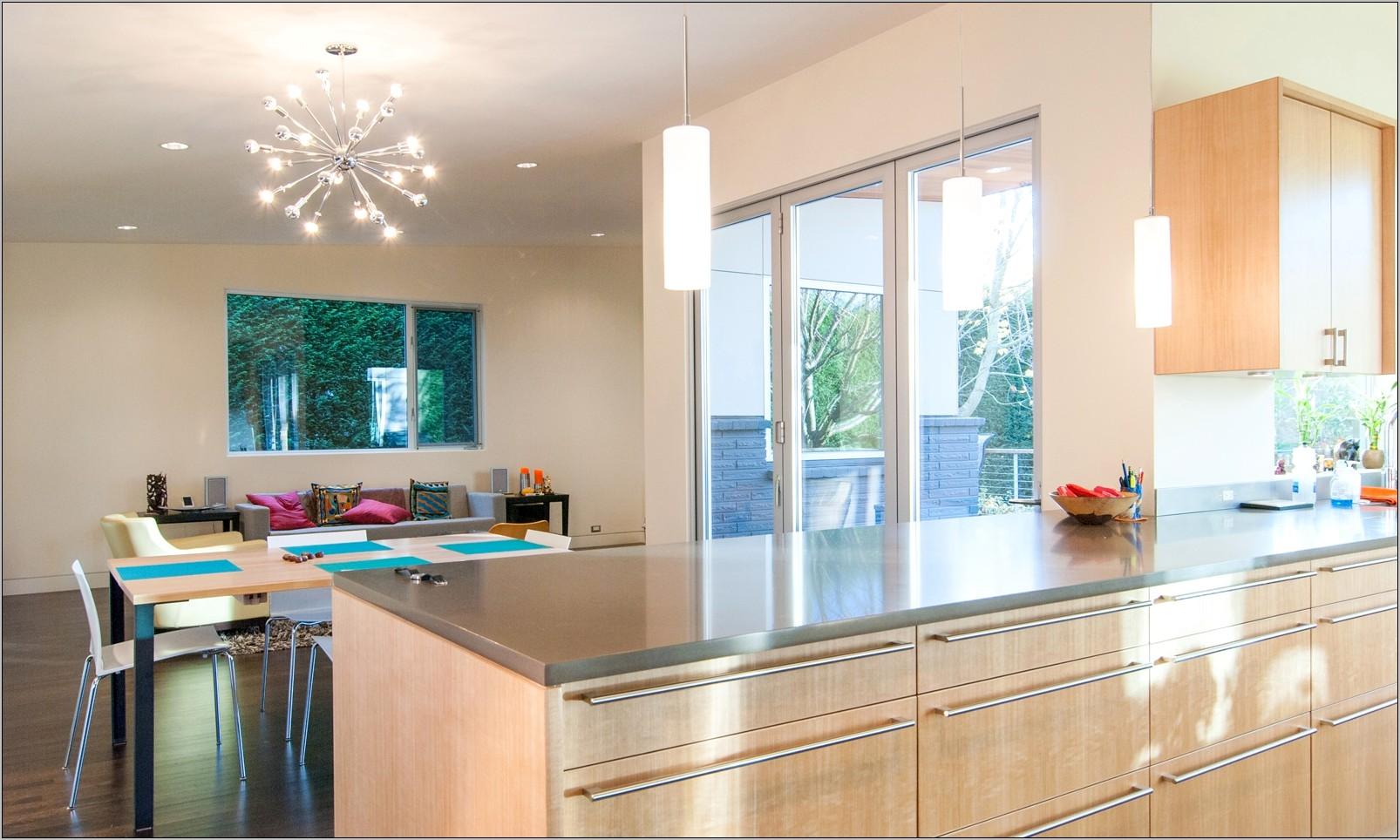 Small Light Gray Kitchen Decor