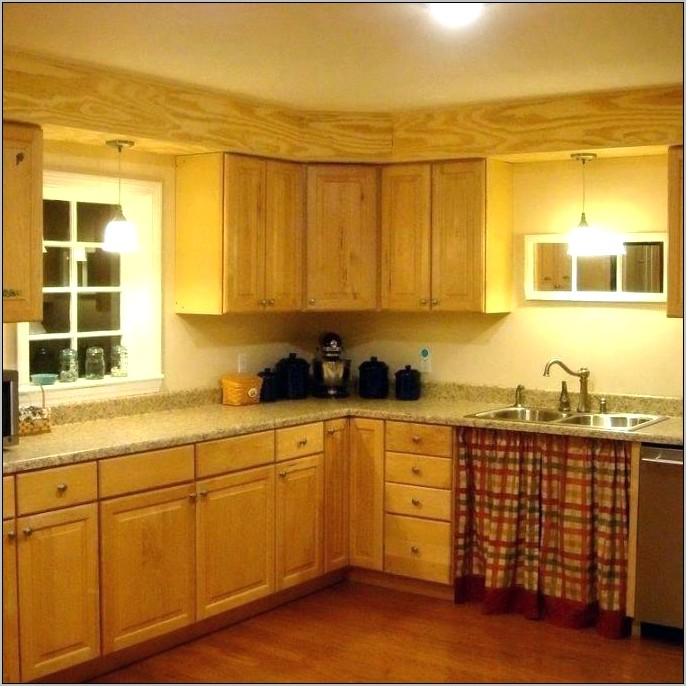 Soffit In Kitchen Decorating