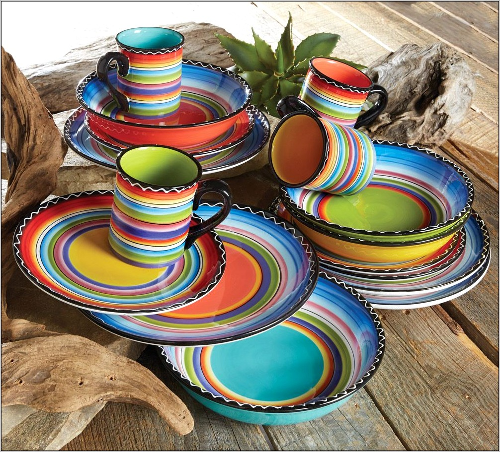 South Western Decor Kitchen Dishes