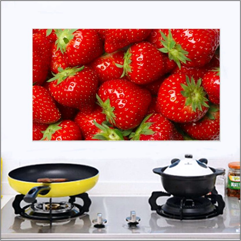 Strawberry Kitchen Wall Decor