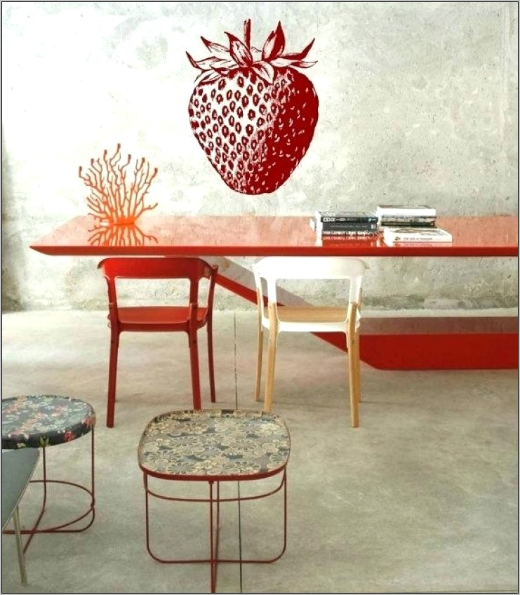 Strawberry Themed Kitchen Decor