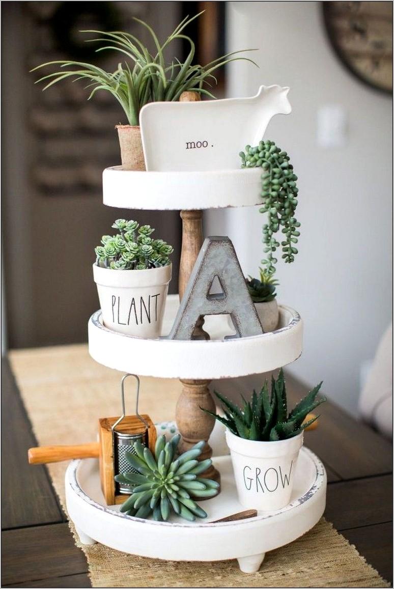 Succulent Kitchen Decor Ideas