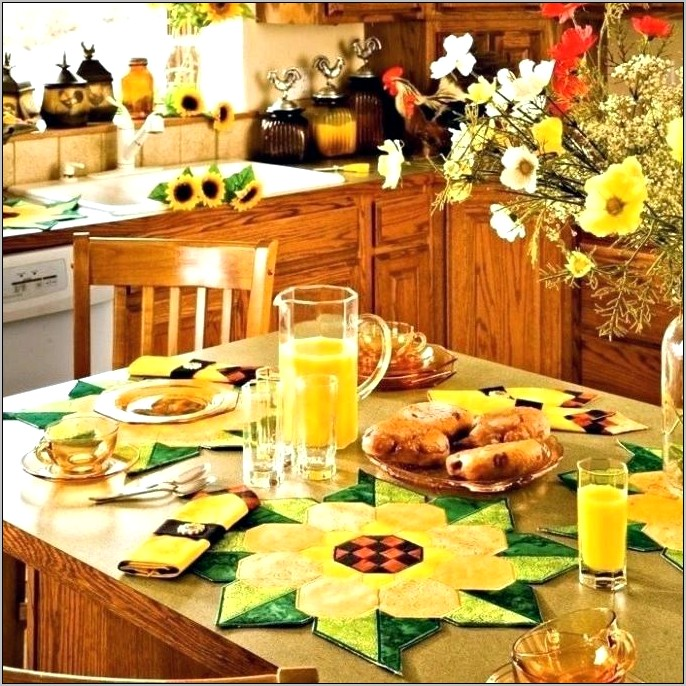 Sunflower Kitchen Decor Walmart