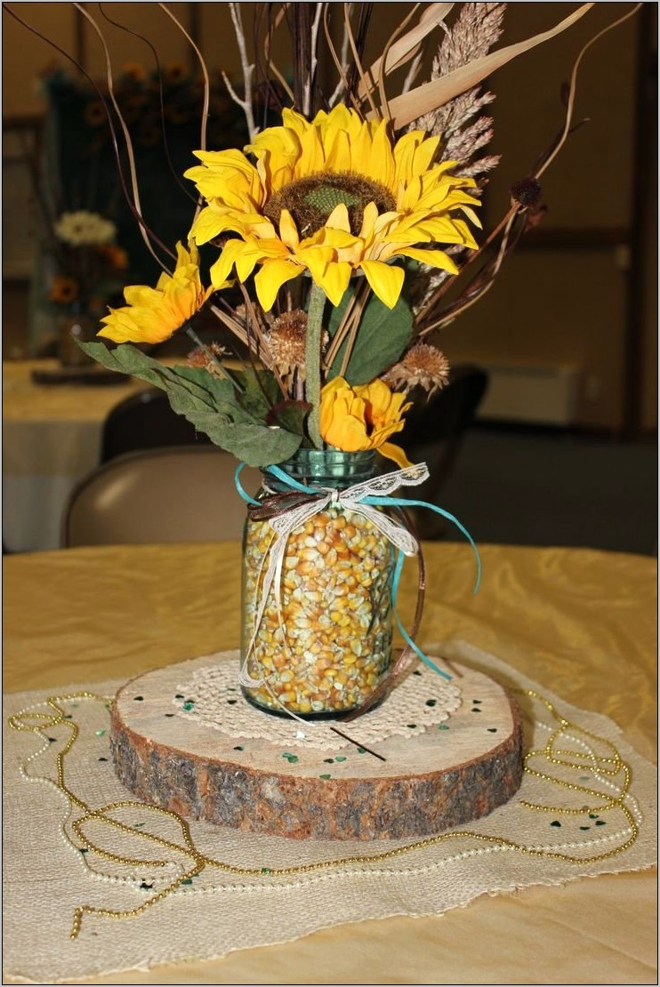 Sunflower Rustic Kitchen Decor