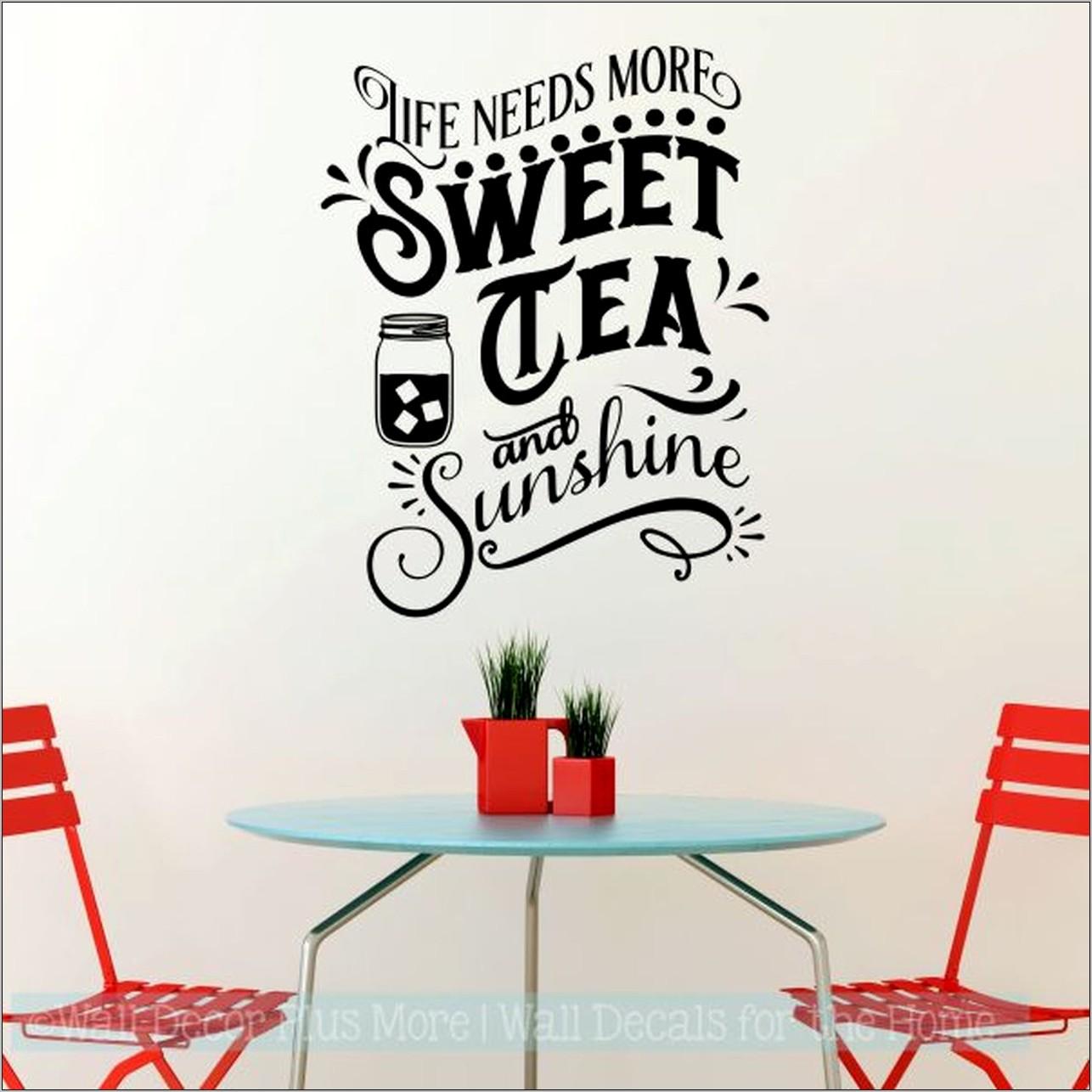 Tea Decor For Kitchen
